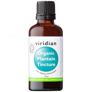Organic Plantain tincture - By Pumpernickel Online an Natural and Dietary Supplements Store Bedford UK