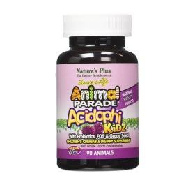 Animal Parade Acidophi Kidz 90-chewable tabs - By Pumpernickel Online an Natural and Dietary Supplements Store Bedford UK