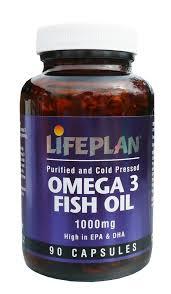 omegga 1 - Lifeplan Omega 3 Fish Oil 1000mg