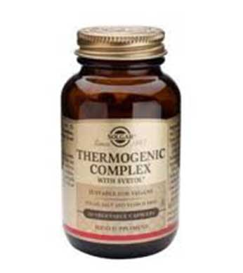 Solgar Thermogenic Complex 60-cap - By Pumpernickel Online an Natural and Dietary Supplements Store Bedford UK