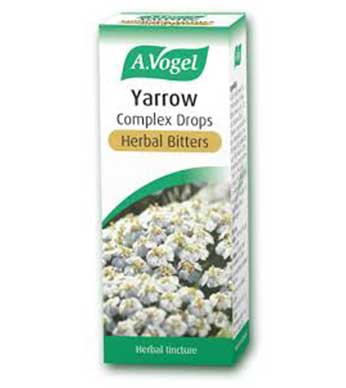 A.Vogel Yarrow Compex Herbal Bitters 50ml - By Pumpernickel Online an Natural and Dietary Supplements Store Bedford UK