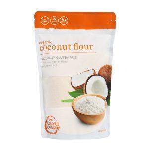 Coconut Flour Pouch 300x300 - The Coconut Company - Organic Coconut Flour 400g
