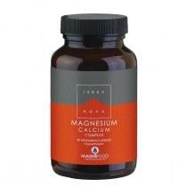 magnesium calcium - Terranova Magnesium Calcium Complex, 50 Capsules