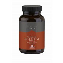 milk thistle 500mg 50 - Terranova Milk Thistle 500Mg, 50 VCapsules