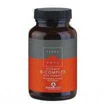 vitamin b complex - Terranova B-Complex with Vitamin C, 50 Capsules